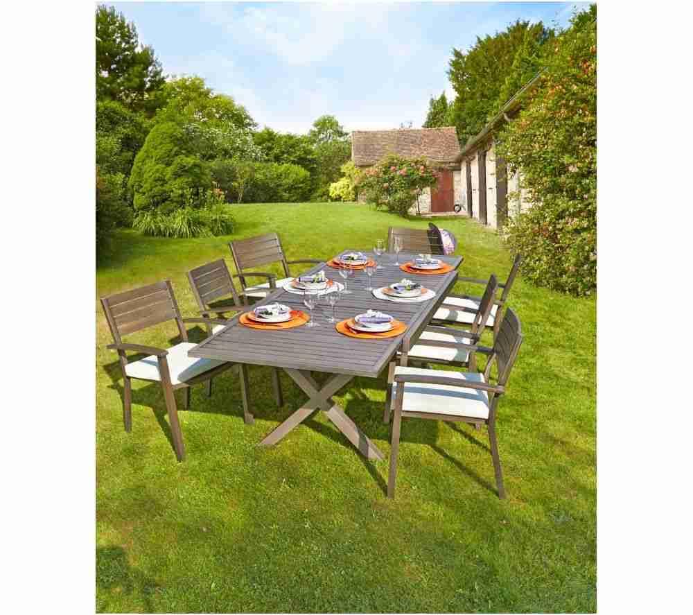 meuble de jardin carrefour genial carrefour table de jardin extensible honfleur prix promo de meuble de jardin carrefour