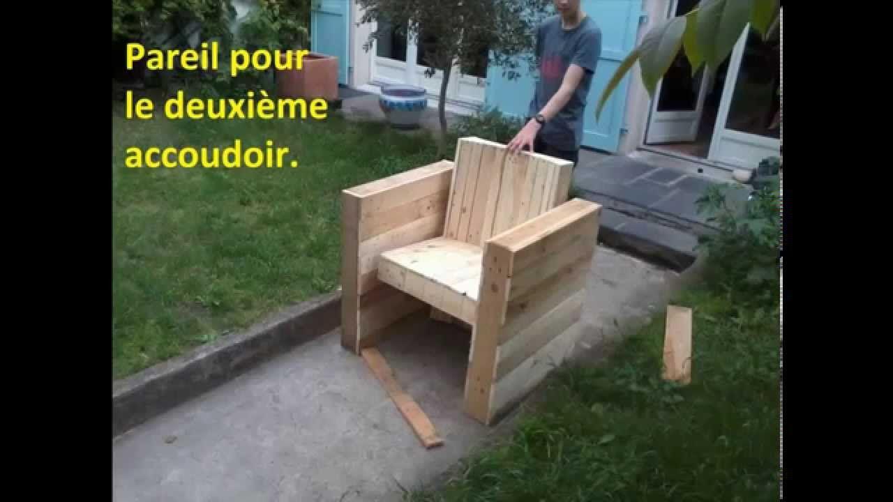 Salon De Jardin Fauteuil Génial Facile Fabriquer Votre Fauteuil De Jardin