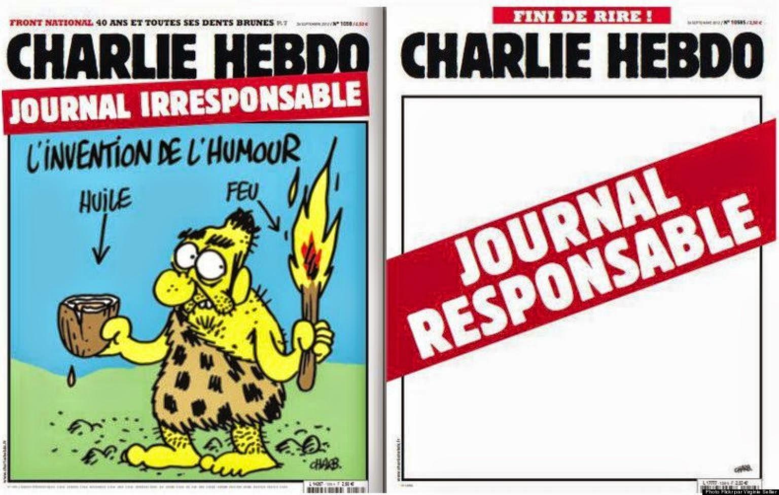 o CHARLIE HEBDO