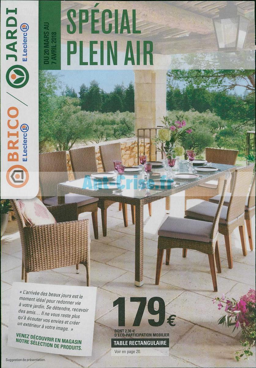avril2018 Catalogue Leclerc du 20 mars au 7 avril 2018 Plein Air 1