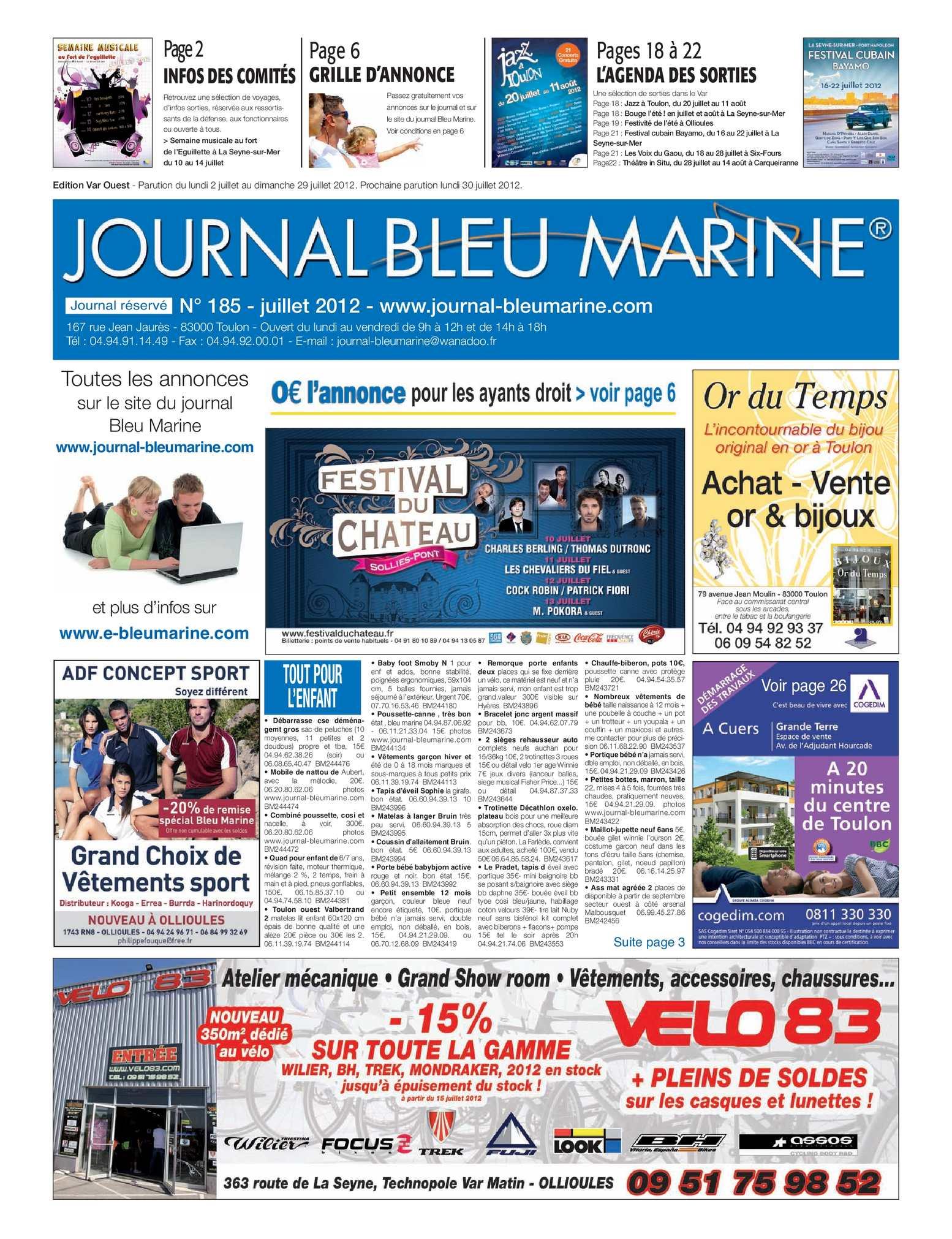 Salon De Jardin Modulable Frais Calaméo Journal Bleu Marine N°185 Juillet 2012 Of 39 Nouveau Salon De Jardin Modulable