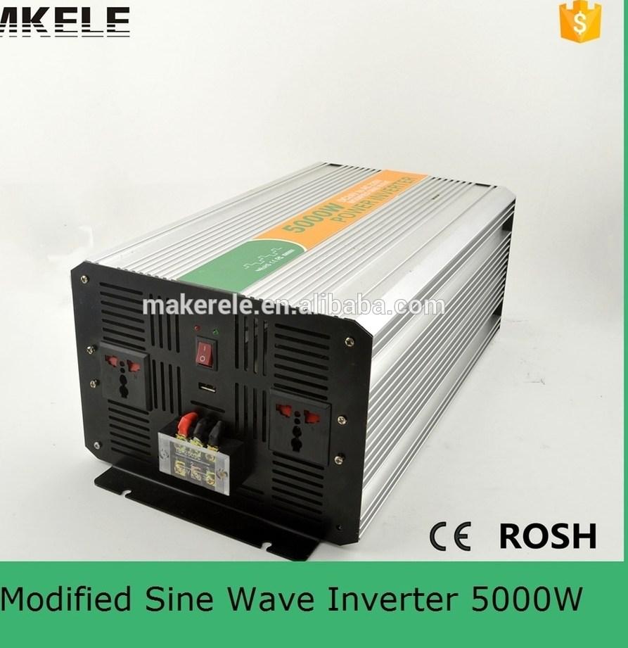 MKM5000 242G high power inverters modified sine wave off grid inverter 5000w 24v 220v power inverter