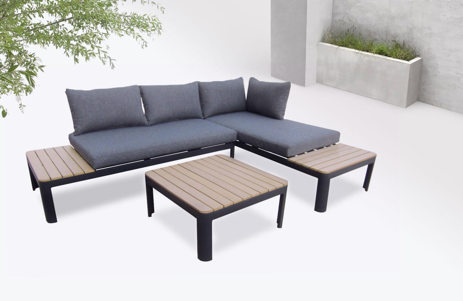 Salon De Jardin Nouveau Garden Furniture Aluminium Ibiza