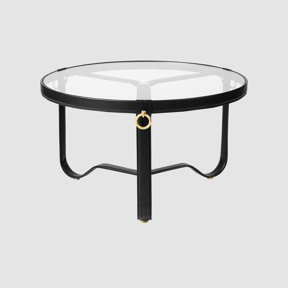 Adnet CoffeeTable 70 Black Front