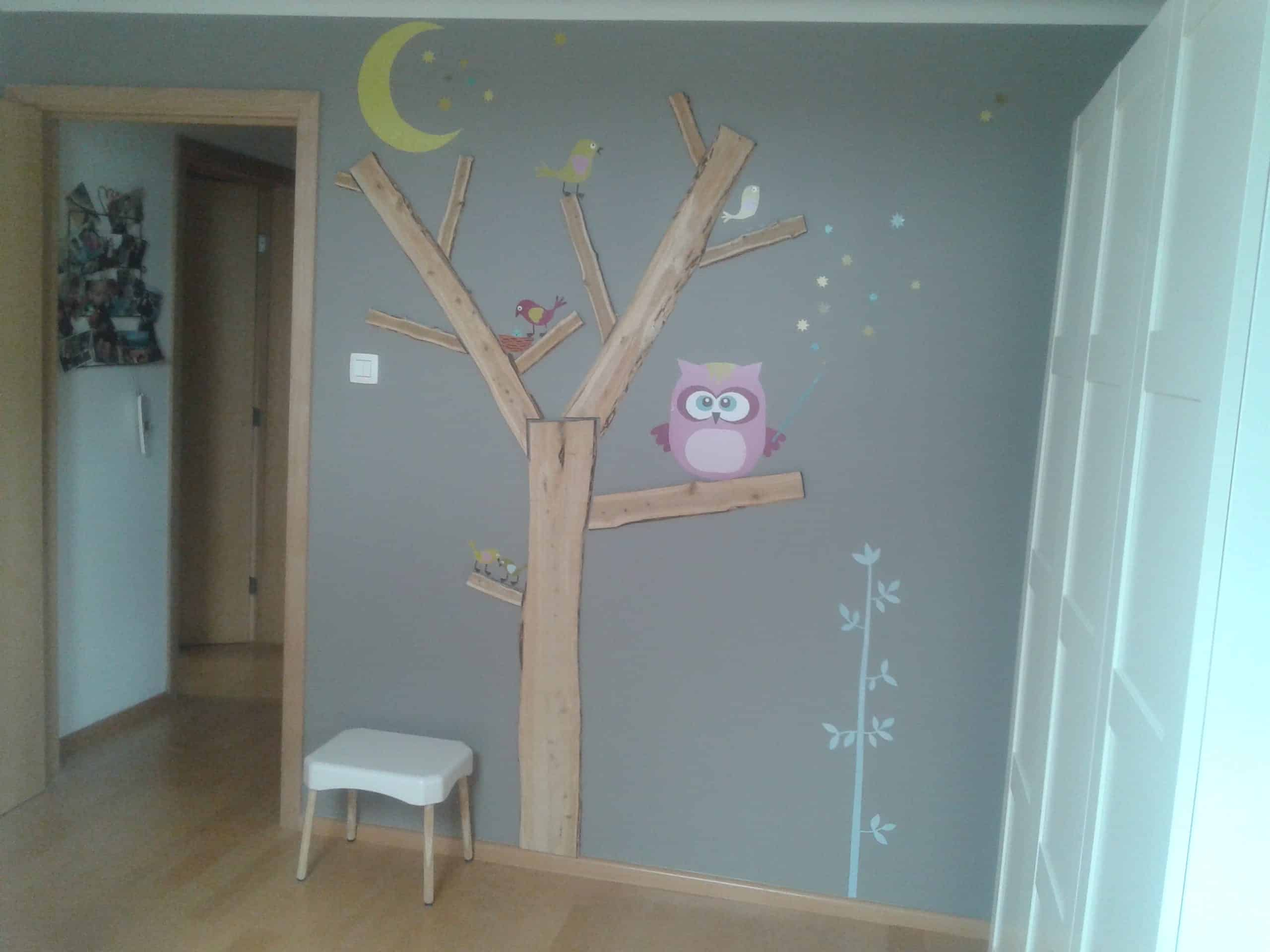 recyclart decoration arbre pour chambre bebe fille tree wall decor for my daughter bedroom