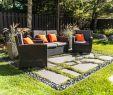 Salon De Jardin Resine Tressée Luxe Idee Terrasse Exterieur