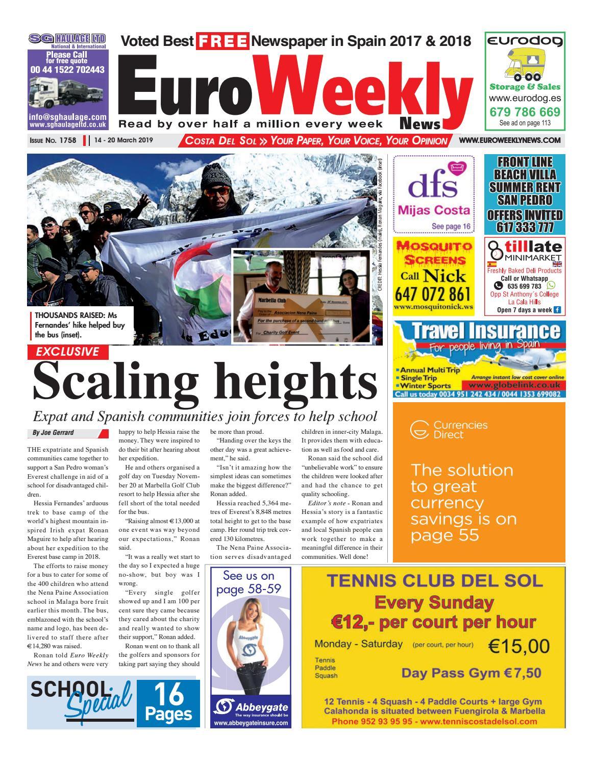 Salon De Jardin Unopiu Luxe Euro Weekly News Costa Del sol 14 20 March 2019 issue Of 40 Unique Salon De Jardin Unopiu