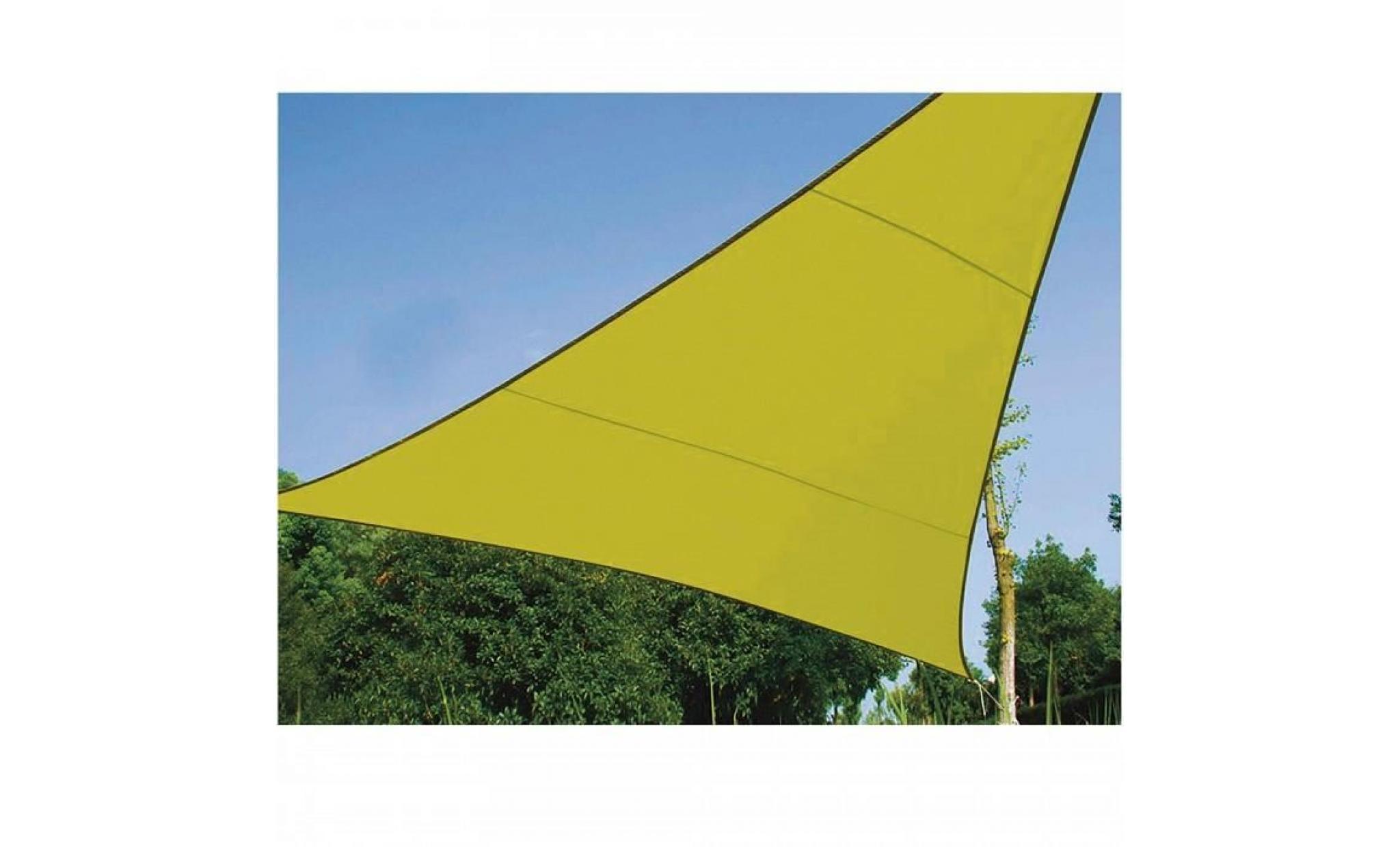 5 x 5 x 5 m voile d ombrage triangle 5 m ideale p 1