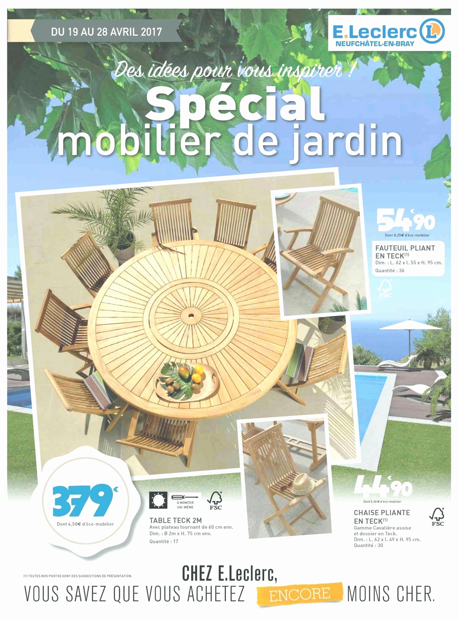 Salon En Teck Élégant Salon De Jardin Leclerc Catalogue 2017 Le Meilleur De Table Of 27 Luxe Salon En Teck