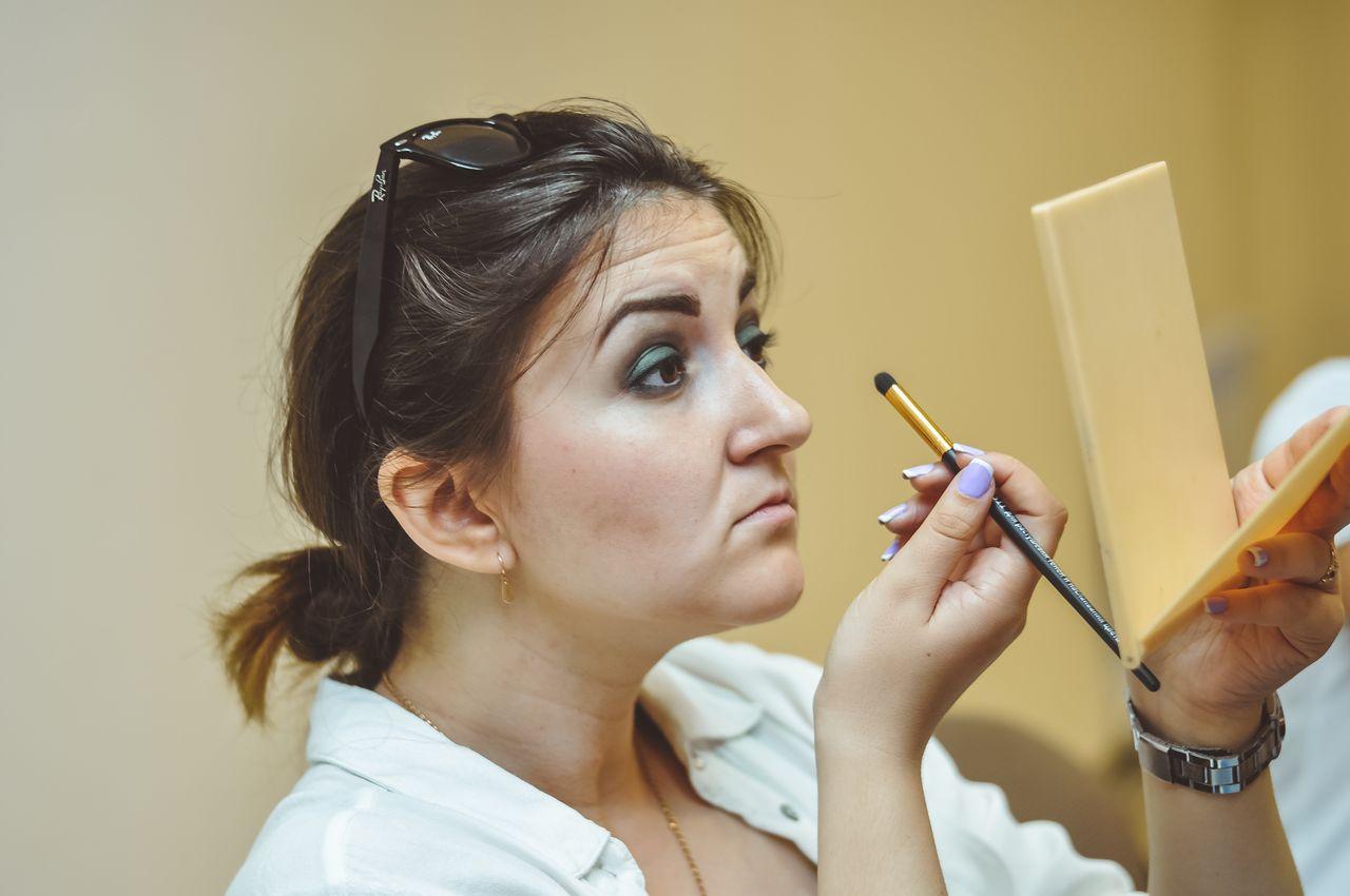 Na kursah makiyazh dlya sebya v Beauty School Odessa 16 06 2016 foto 14