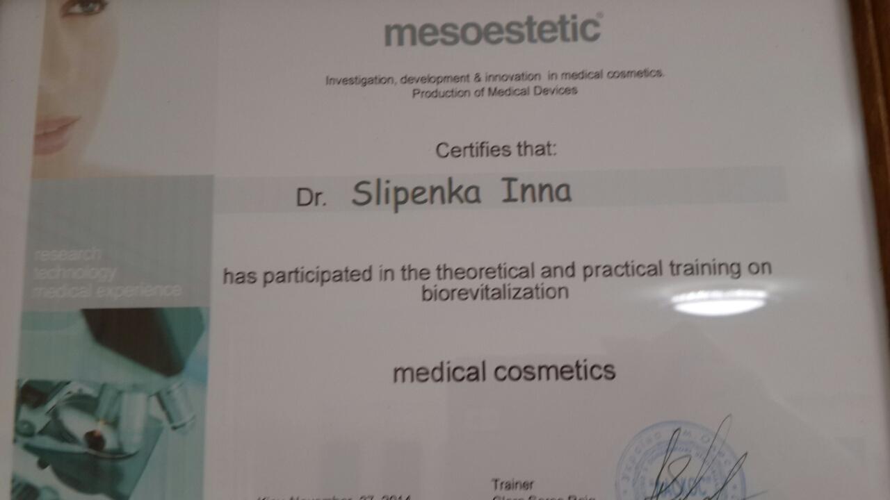 kosmetolog sertifikat 5
