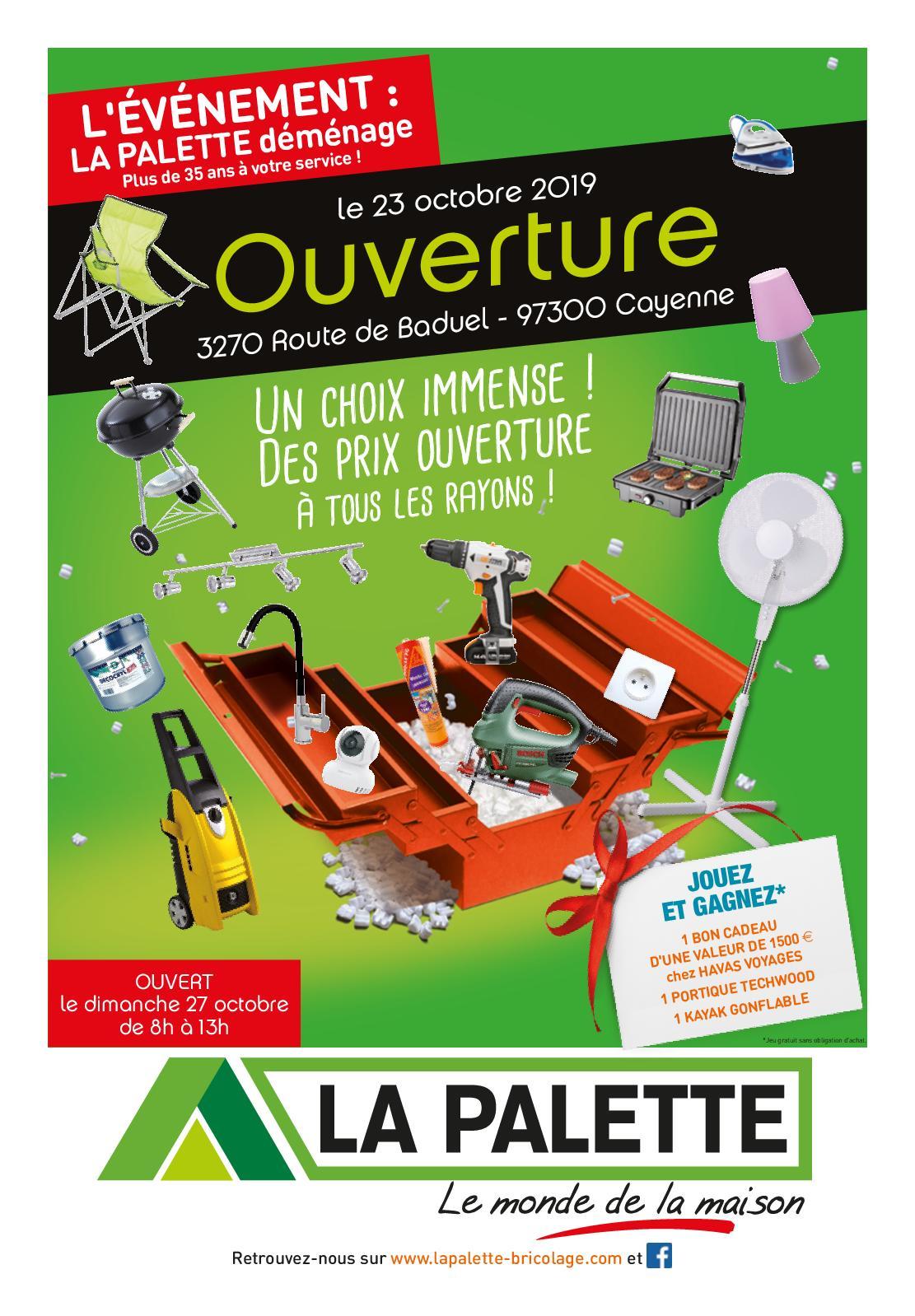 Salon Exterieur Palette Luxe Calaméo Catalogue Ouverture La Palette Guyane Of 27 Beau Salon Exterieur Palette