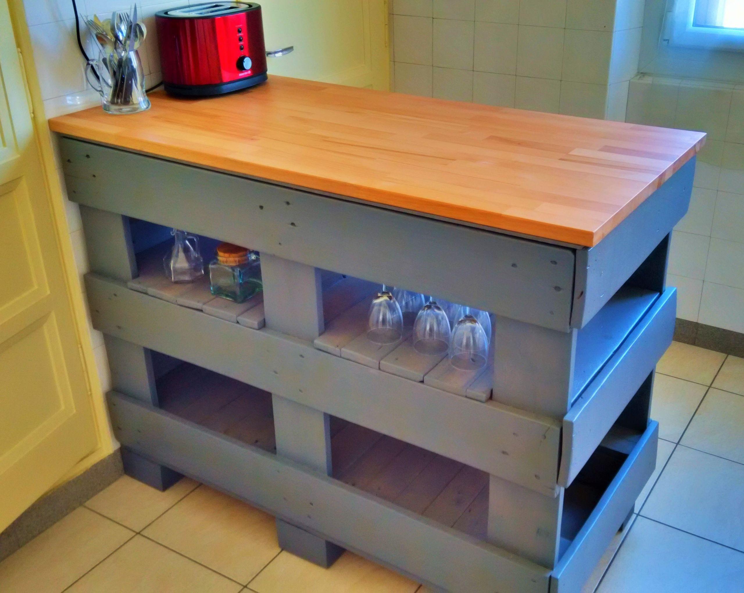 arredare la cucina con i bancali 8
