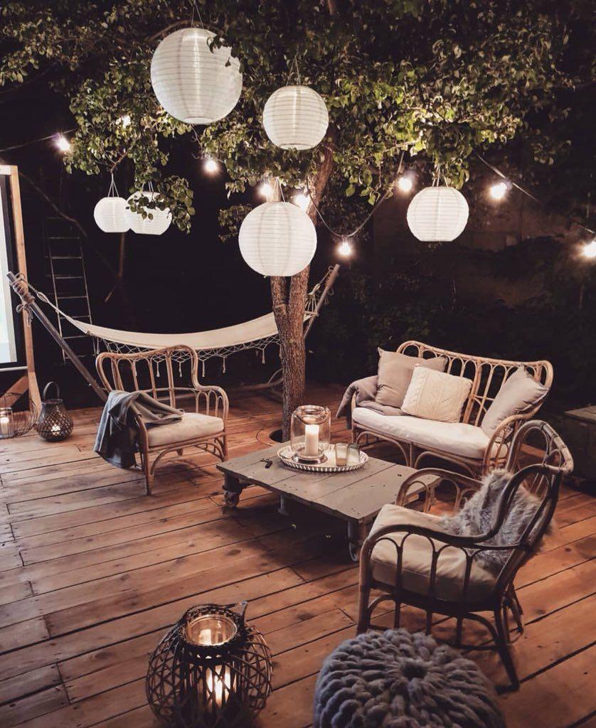 Salon Jardin Design Génial 40 Sublimes Terrasses Pour Profiter Des soirées D été