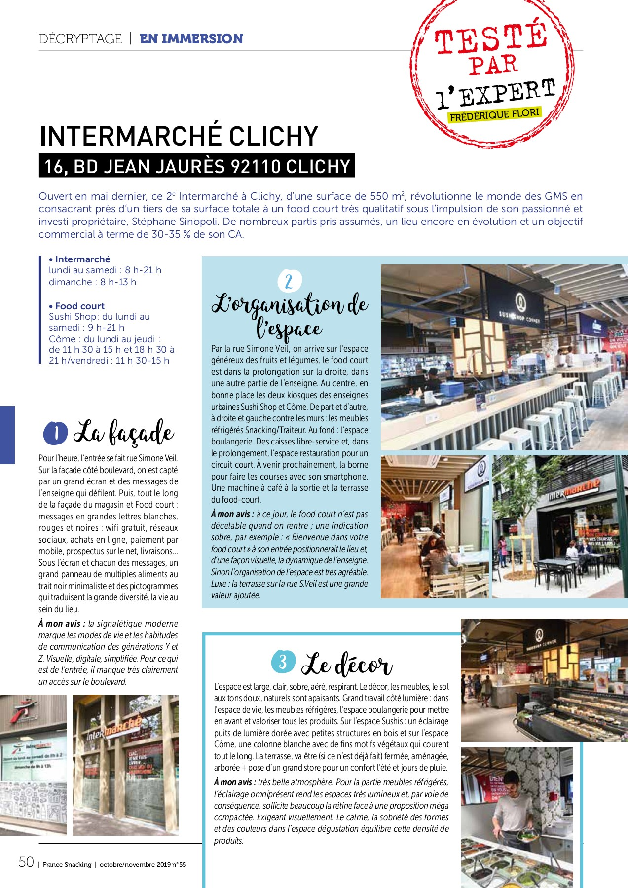 Salon Jardin Intermarche Frais France Snacking N°55 Pages 51 100 Text Version