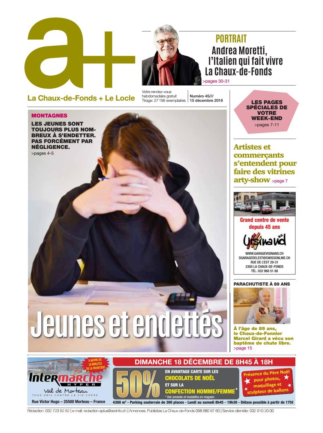 Salon Jardin Intermarche Génial A La Chaux De Fonds Le Locle Edition Du 15 Décembre