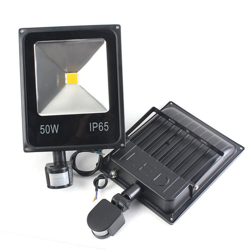 IP65 LED Projecteur Avec Détecteur de mouvement Projecteur 10 W 20 W 30 W 50 W