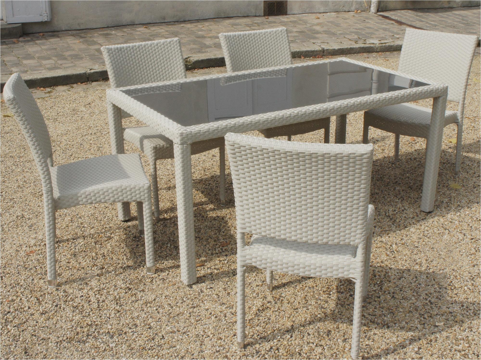 la redoute salon de jardin resine tressee magnifique table jardin 10 personnes 6