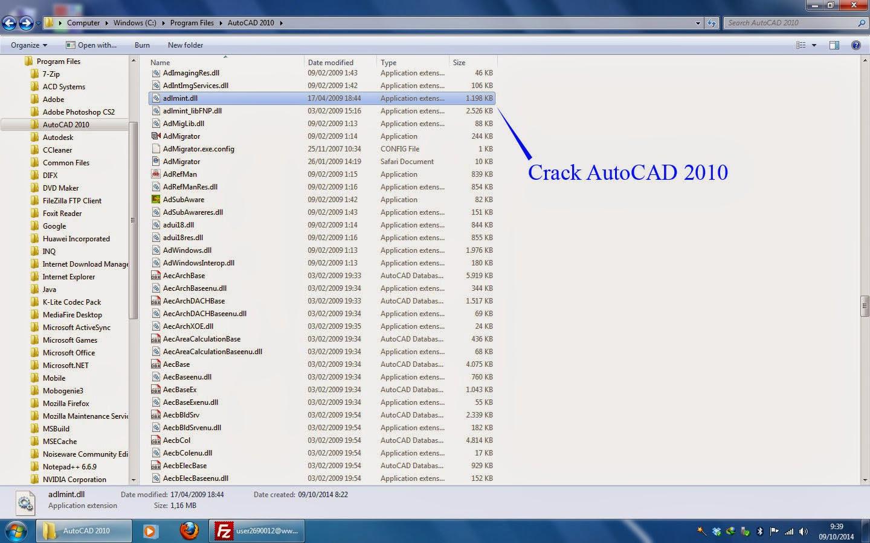 Autocad 2010 Crack