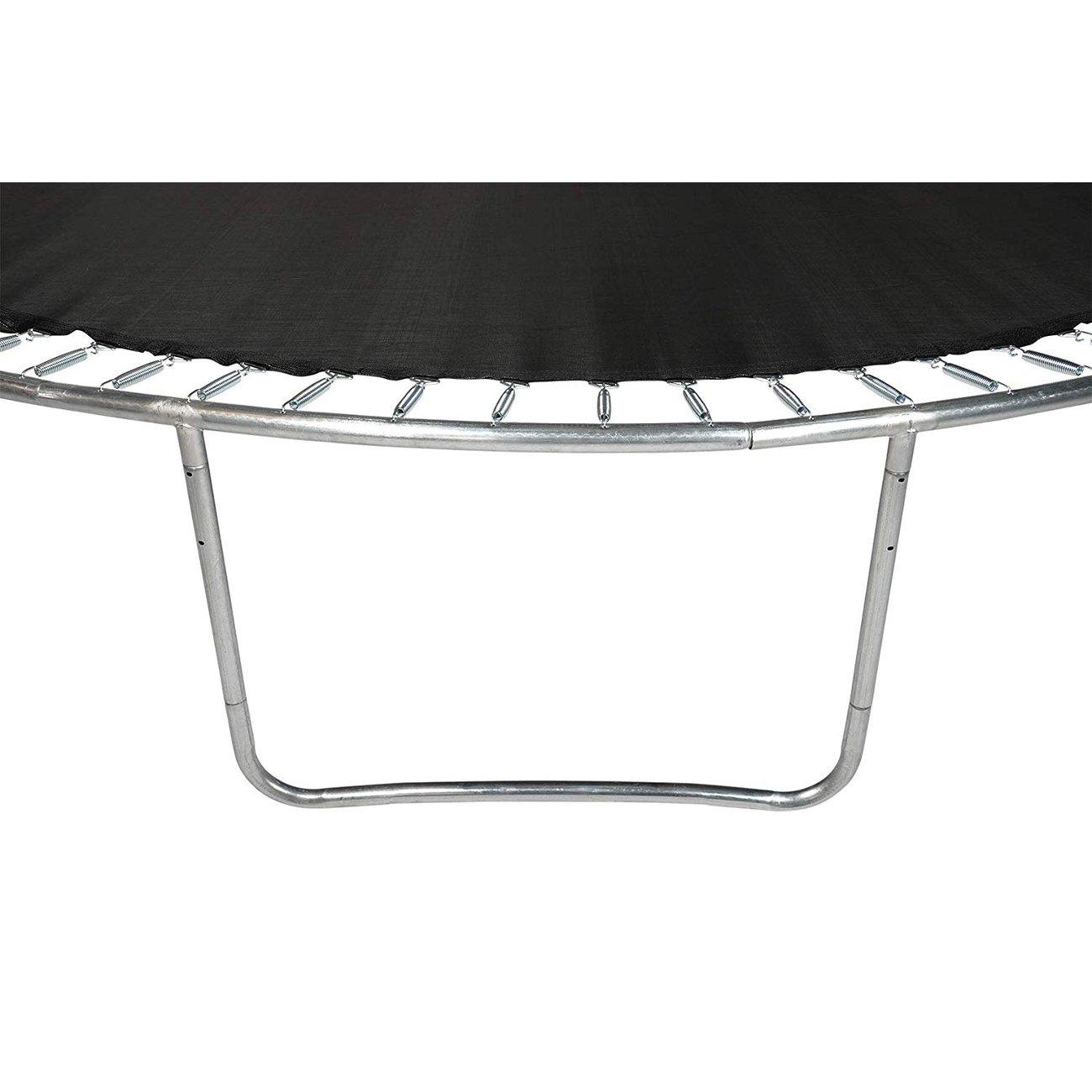 trampoline de jardin tuv avec filet interieur diametre 14 ft 427cm 6 perches couleur au choix noir 8 v2