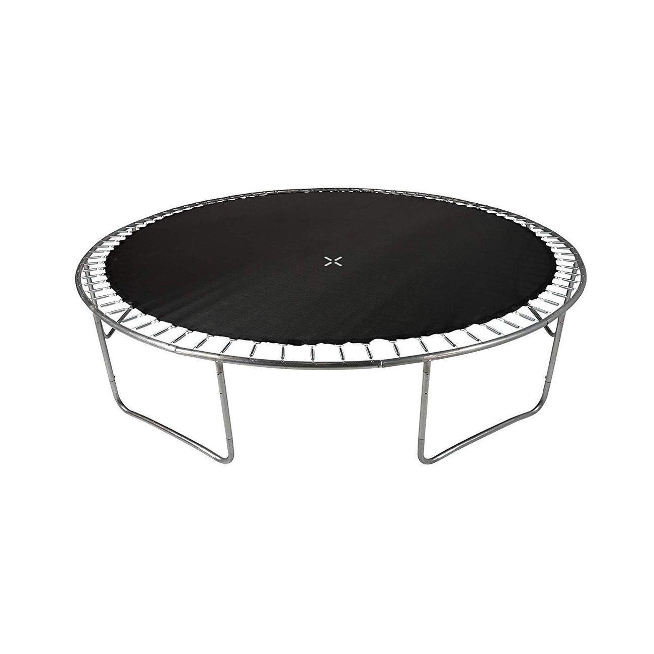 trampoline de jardin tuv avec filet interieur diametre 14 ft 427cm 6 perches couleur au choix bleu 4 v2