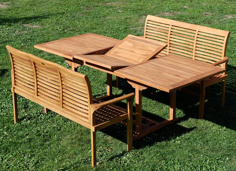 Table Banc Bois Exterieur Elegant Ass Jav Ensemble De Jardin En