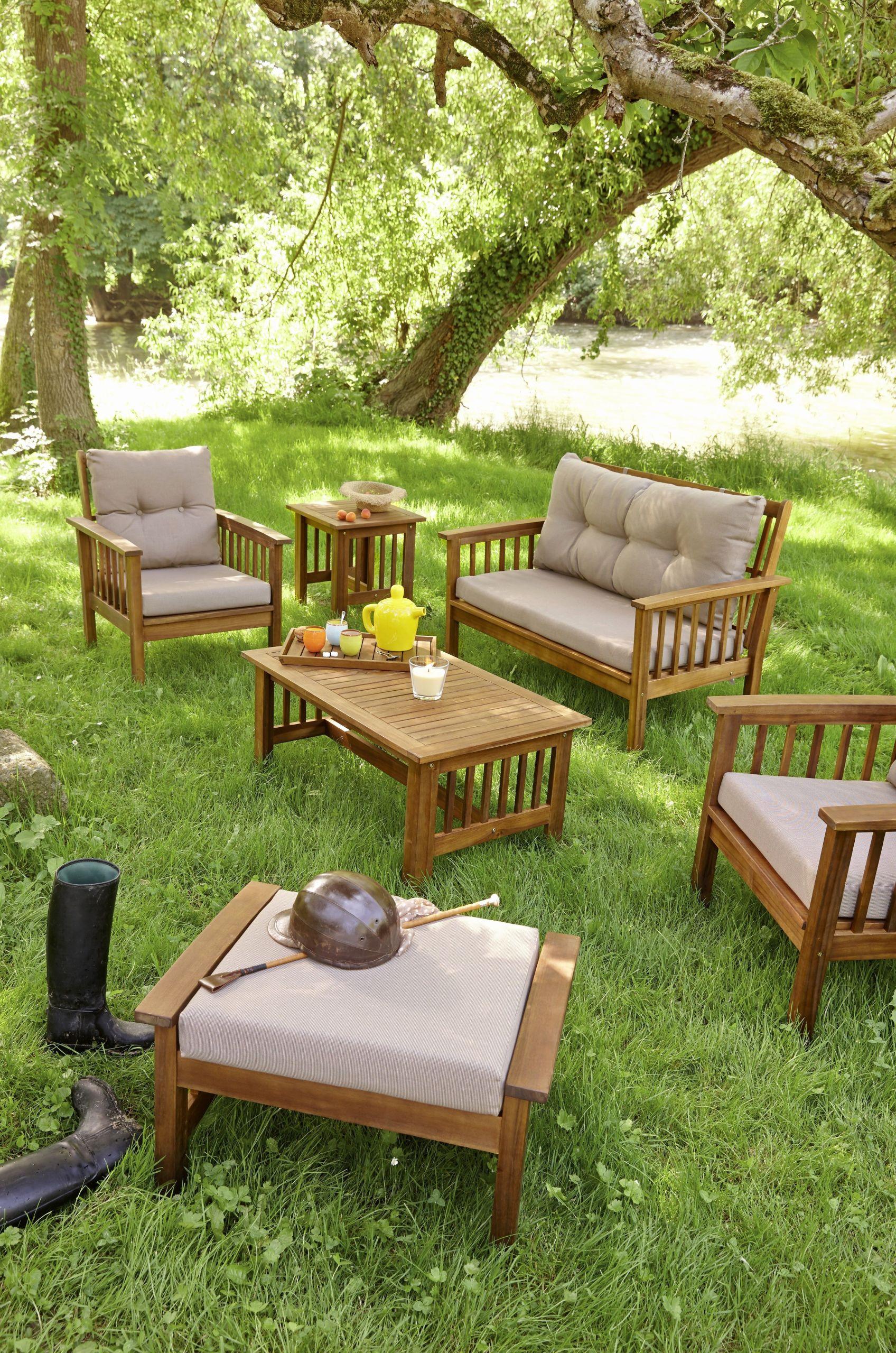 Fabrication Banc En Bois 21 charmant table banc bois exterieur   salon jardin