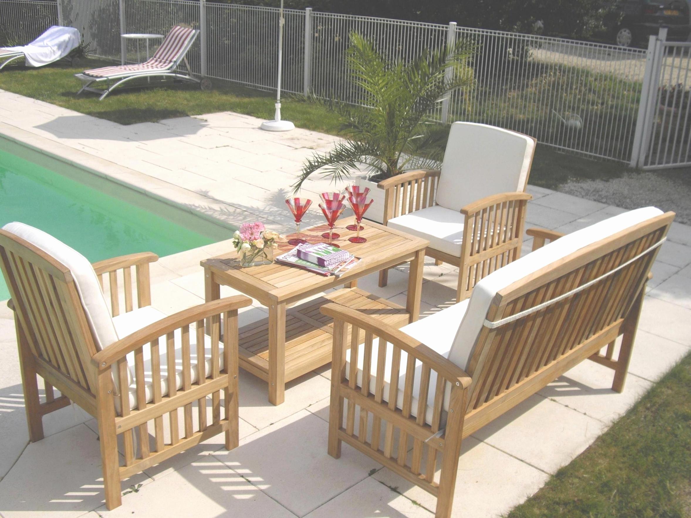 Table Basse Jardin Bois Frais Salon De Jardin En Metal Inspiré Salon De Jardin En Bois