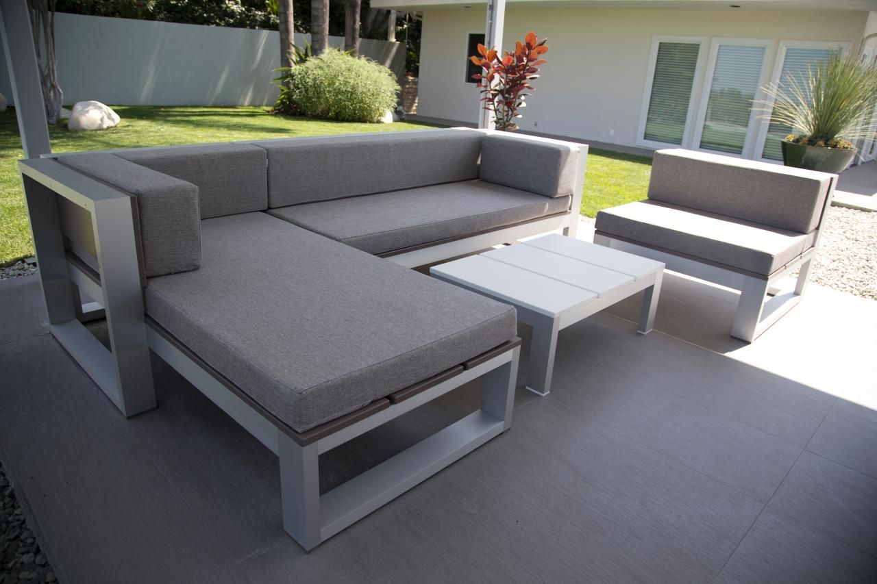 Table De Bar Exterieur Best Of Modern Gray Outdoor Sectional with Table Hgtv Of 26 Charmant Table De Bar Exterieur
