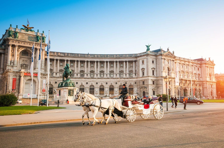 horse hofburg vienna austria shutterstock