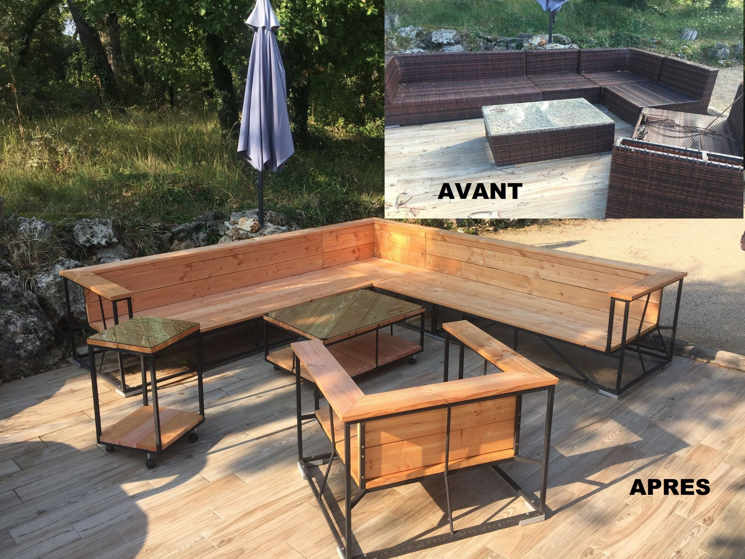 Table De Jardin Acacia Best Of Salon Exterieur Terrasse Of 24 Inspirant Table De Jardin Acacia