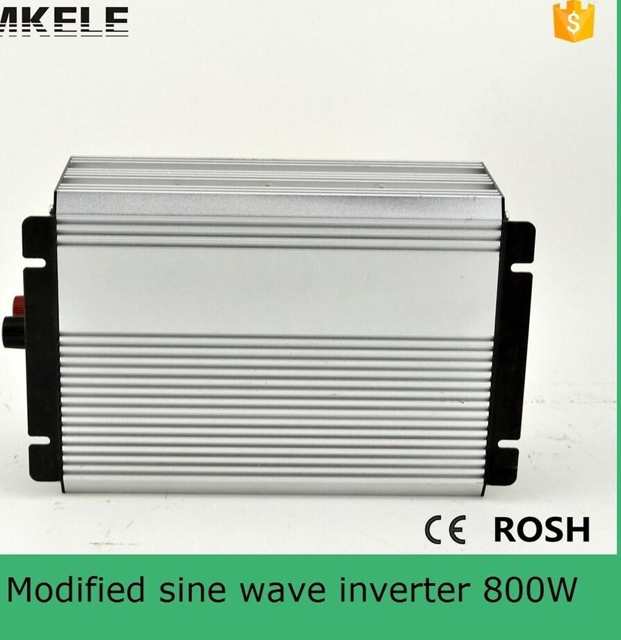 MKM800 241G 800 W onde sinusoïdale modifiée onduleur solaire monophasé onduleur de véhicule doit onduleur 24