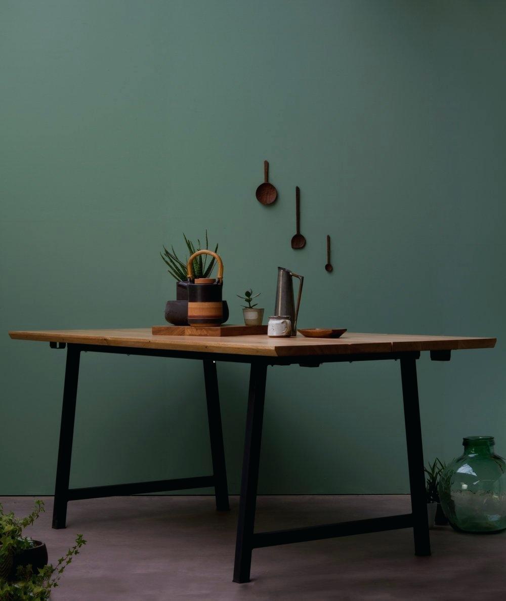 a frame dining table extendable konk custom handmade furniture picture frame dining table kitchenaid artisan mixer 5ksm175ps
