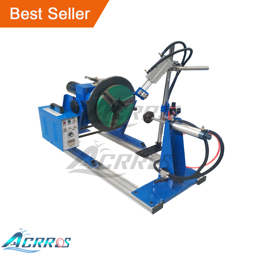 Through Center Hole 100Mm Rotating Welding Table