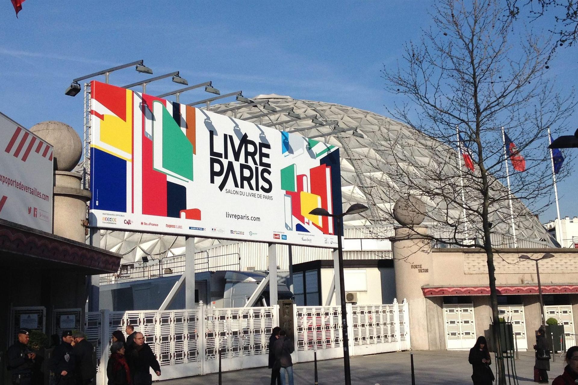 salon du livre paris 2018