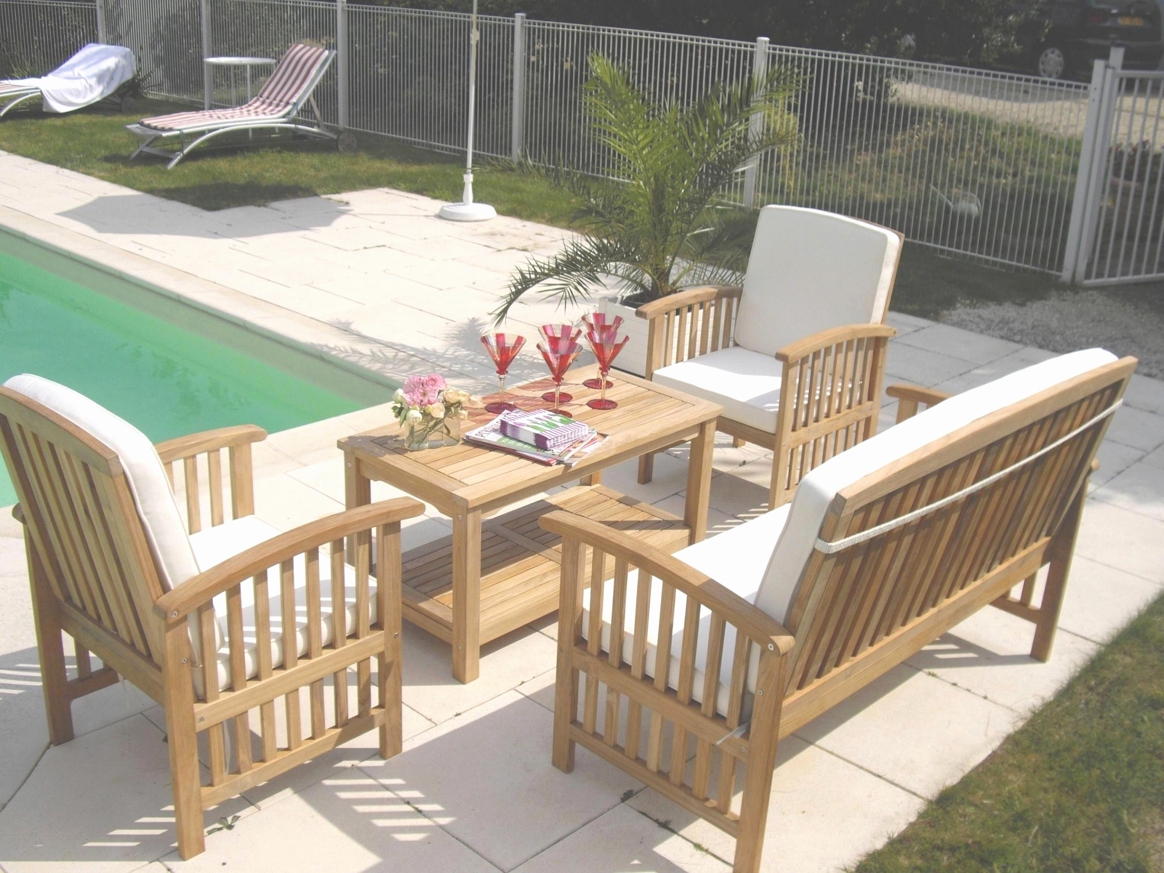 Table De Jardin En Teck Pas Cher Unique Salon De Jardin En Metal Inspiré Salon De Jardin En Bois Of 24 Élégant Table De Jardin En Teck Pas Cher
