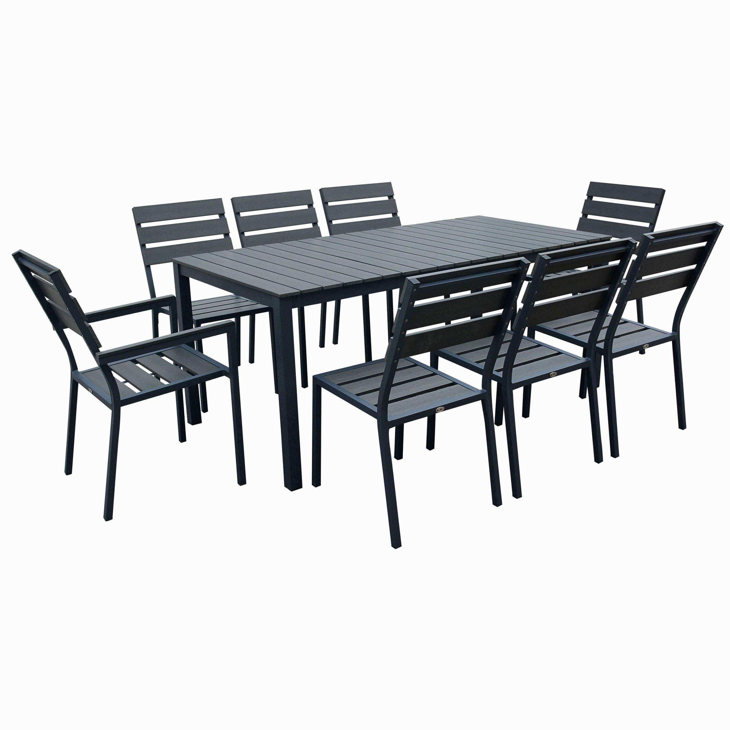 Faire Terrasse Pas Cher 27 beau table de jardin gris anthracite | salon jardin