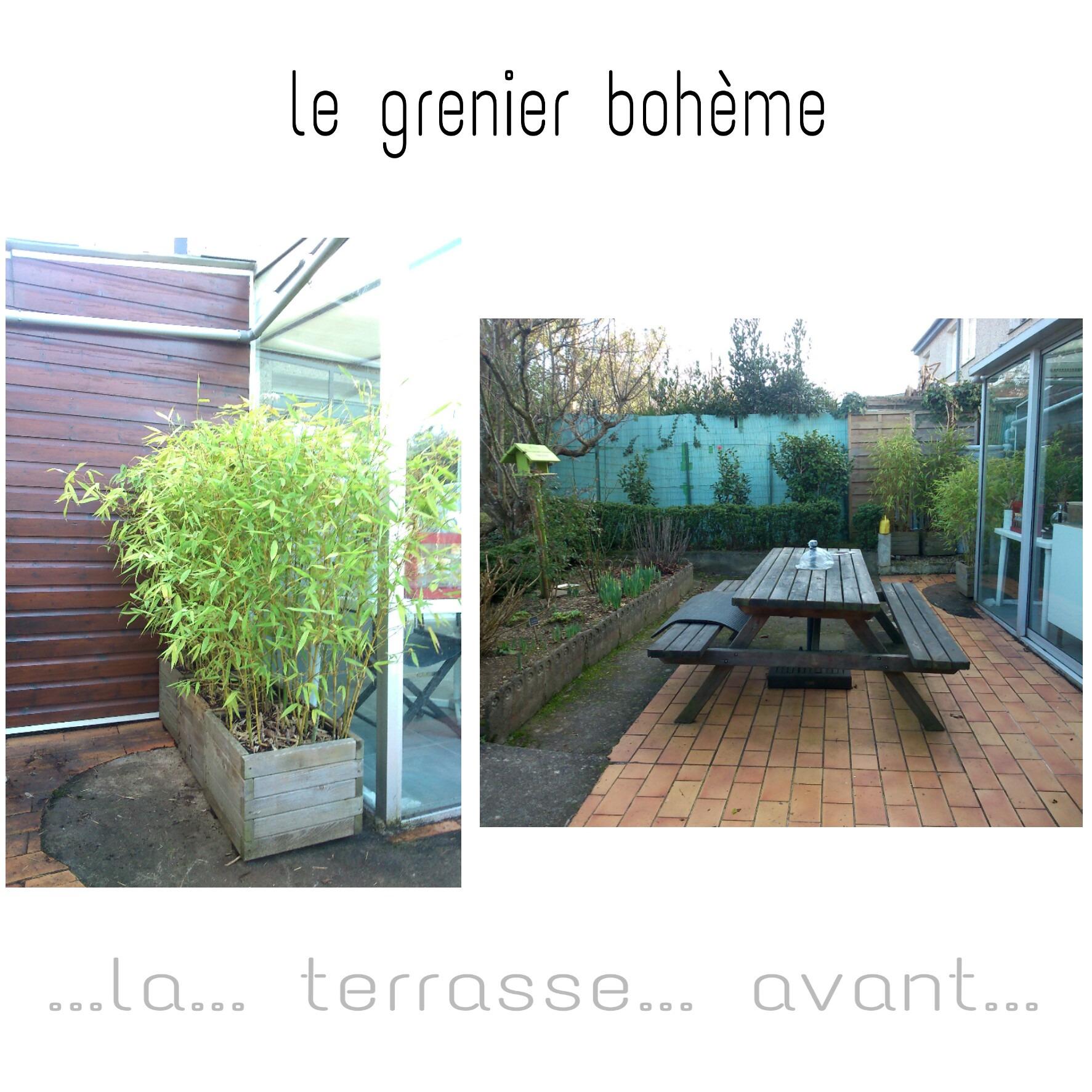 """Table De Jardin Gris Anthracite Nouveau Une Terrasse """" Le Début D Un Long Parcours """" Le Grenier Boh¨me Of 27 Beau Table De Jardin Gris Anthracite"""