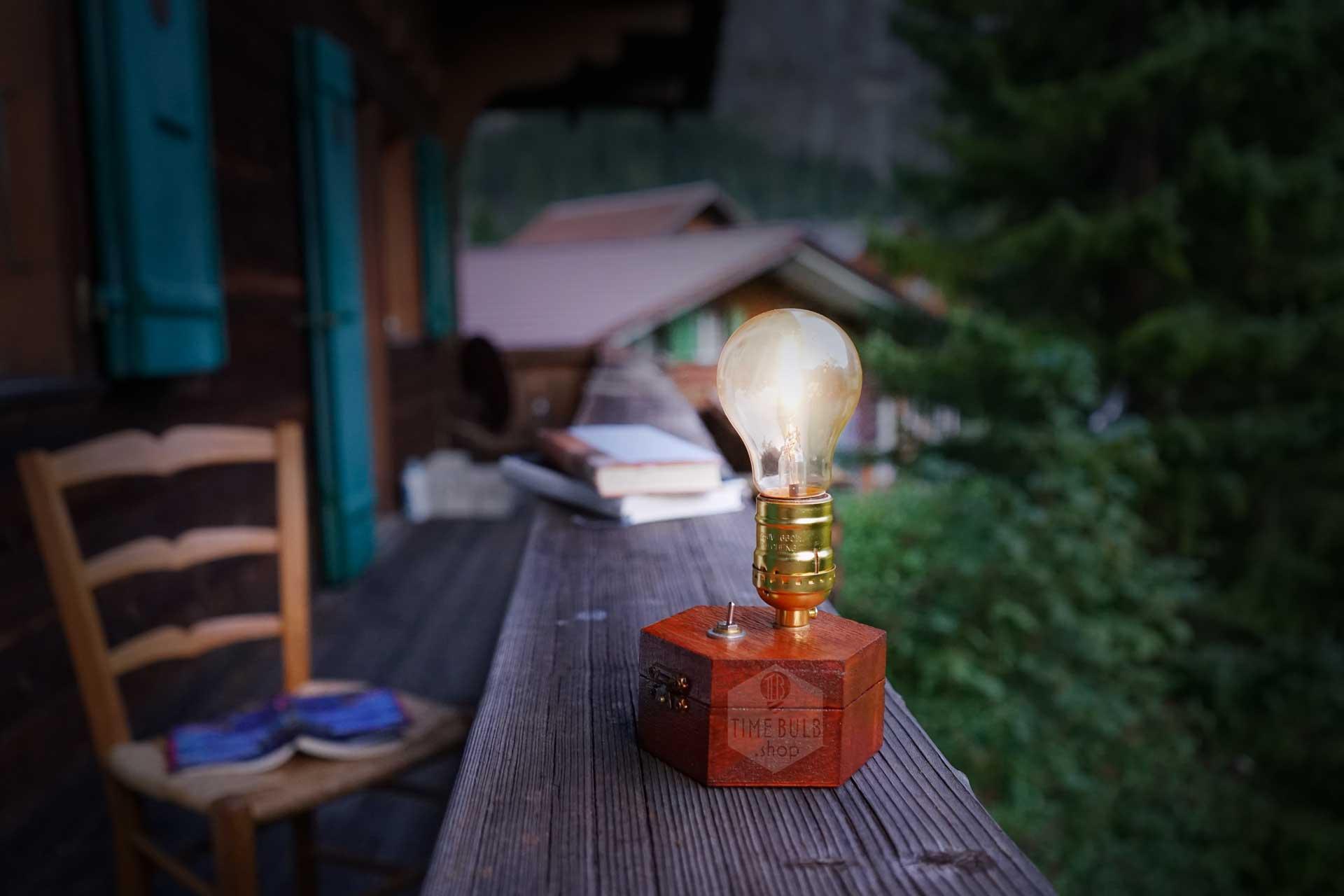 TimeBulb wireless table lamp cordless battery reading desk light books garden terrasse balcony outdoor backyard 09 1