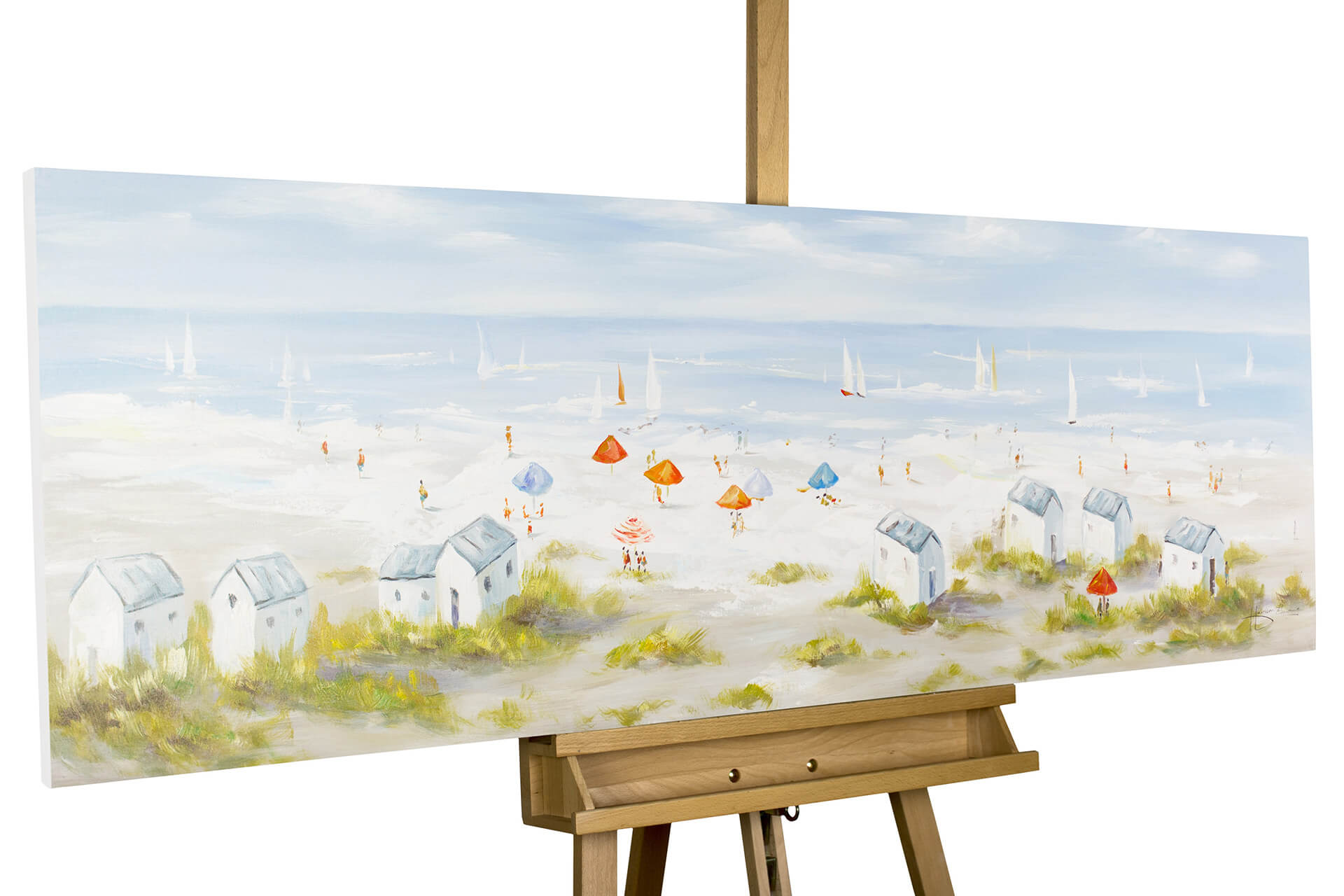 Table De Jardin Moderne Luxe Acrylic Painting Breeze From the north Sea 59×20 Inches Of 29 Frais Table De Jardin Moderne