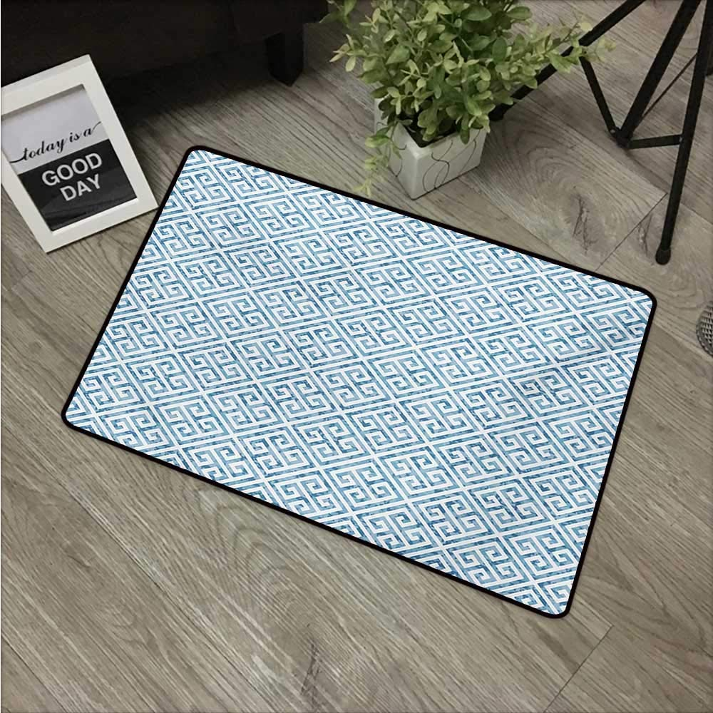 Table De Jardin Mosaique Frais Amazon Axbkl Waterproof Door Mat Greek Key Tile Mosaic Of 35 Nouveau Table De Jardin Mosaique