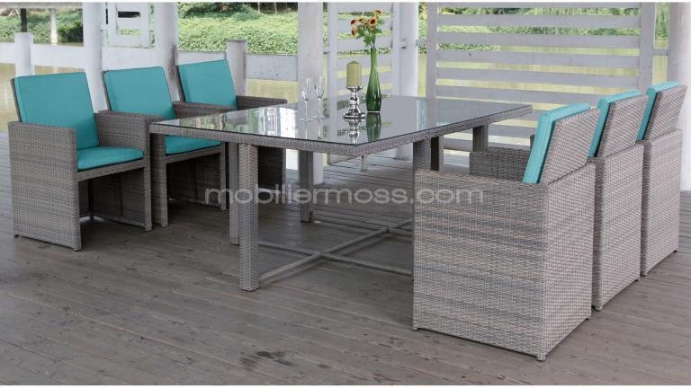 tables et chaises de jardin