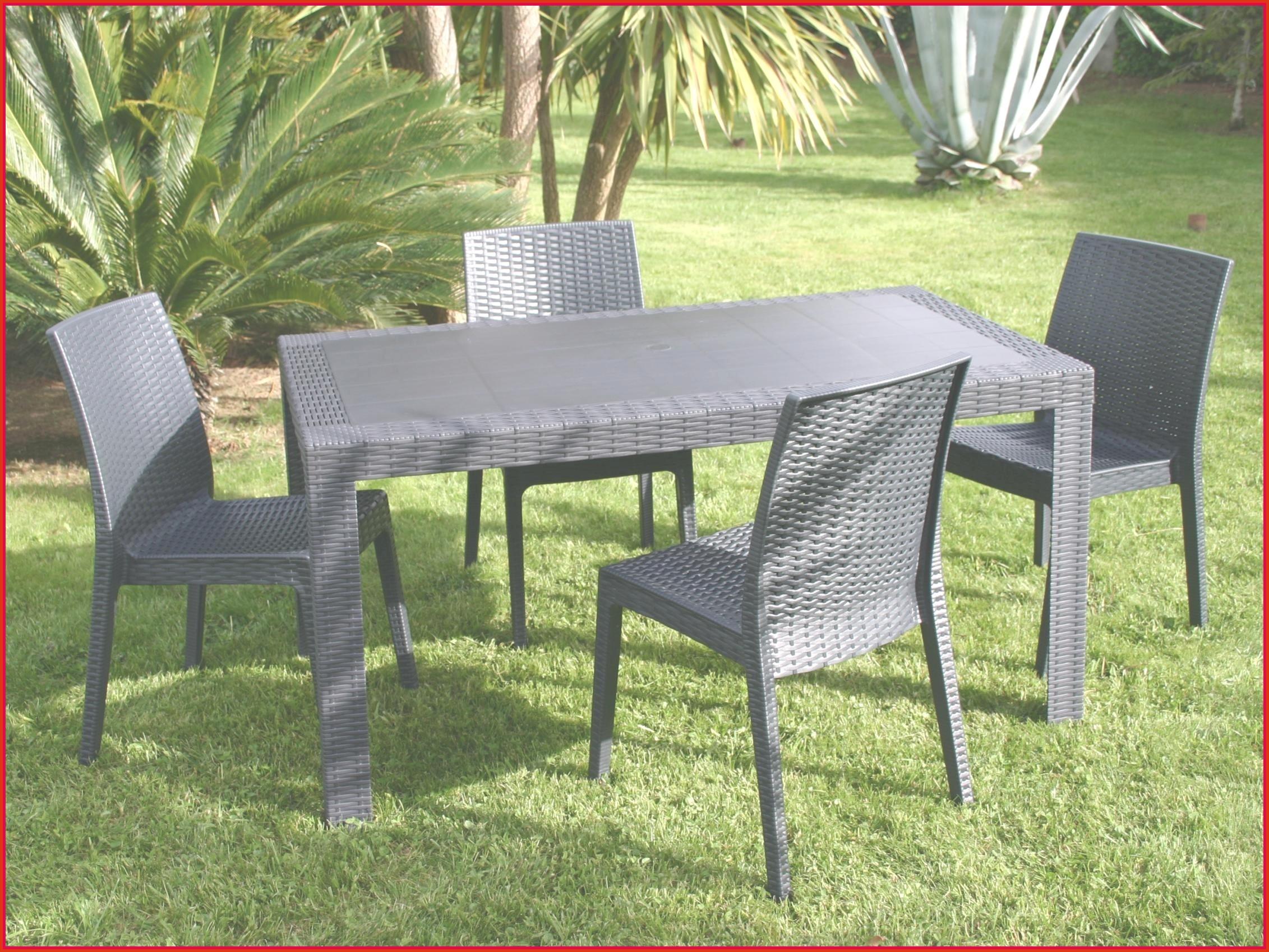 Table De Jardin Résine Tressée Luxe Stunning Salon De Jardin Plastique Bri Arche Gallery