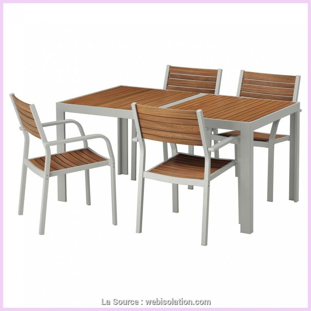 magnifique ikea table ronde terrasse