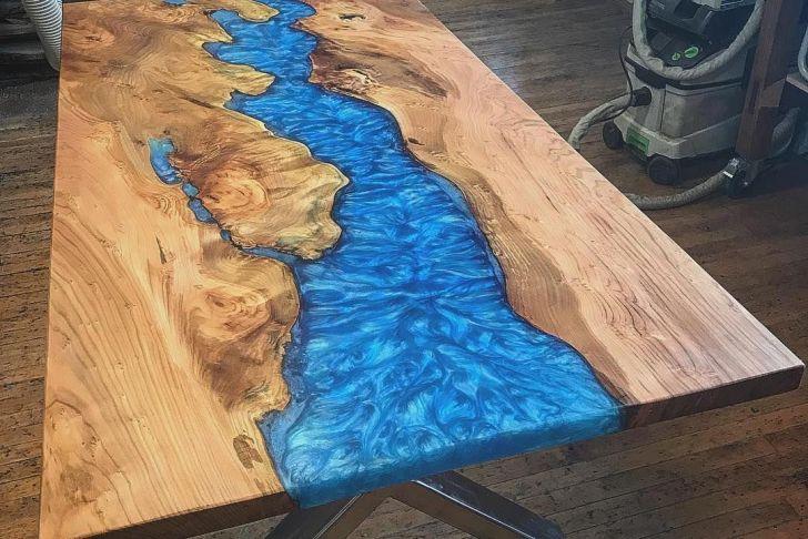 Table En Resine Nouveau Woodworkingtable