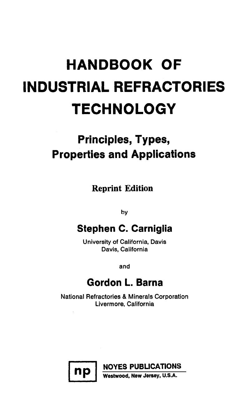 Table En Resine Tressée Nouveau Handbook Of Industrial Refractories Technologies Stephen C Of 37 Best Of Table En Resine Tressée