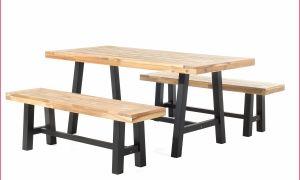 23 Frais Table Et Banc De Jardin En Bois