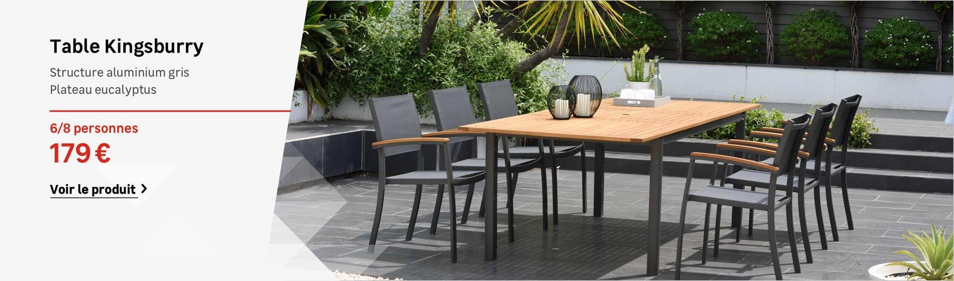 24 Genial Table Et Chaise De Jardin Aluminium Salon Jardin