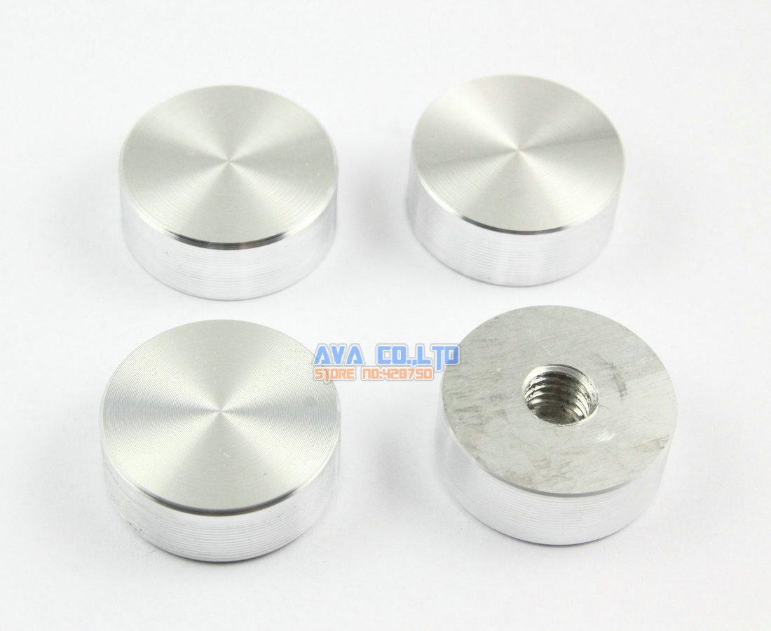 12 Pieces 25 10 M8 Aluminum Disc Glass font b Table b font Top Adapter font