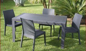 20 Génial Table Et Chaise De Jardin En Resine Tressee